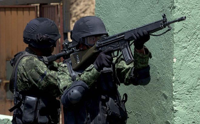 Mexican Army g3
