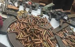 Captured Nigerian Bandits 7.62x39 ammo and Mags