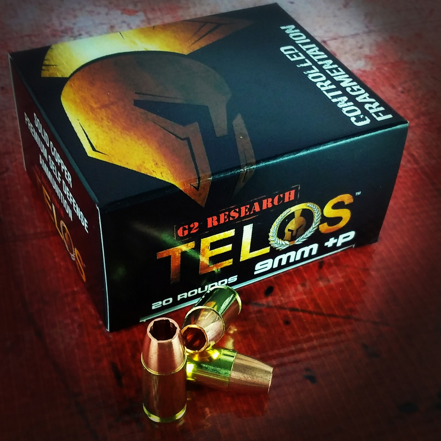 9mm Telos rounds have very similar performance numbers with the RIP rounds and come in at about half the price.