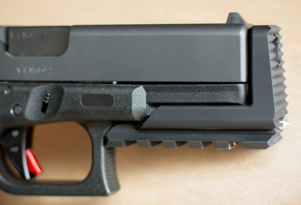 Proof Mark Muzzle Stand-off Device (MSD) for Glock 19 Pistols (14)