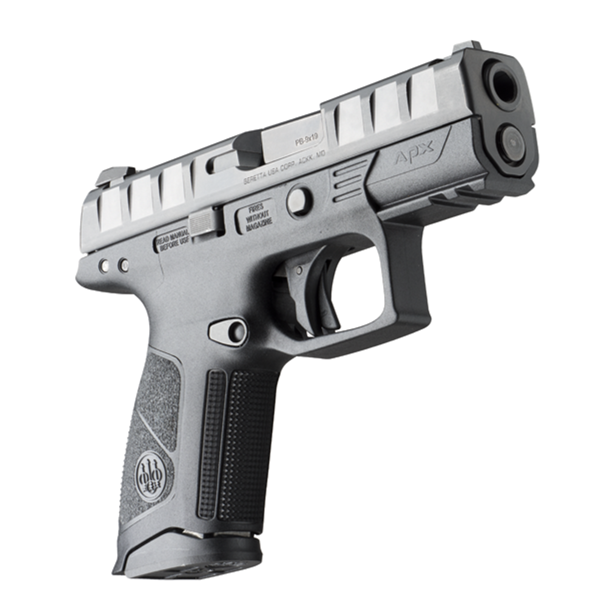 The Striker Deactivation Button on the frame which allows the user to field strip the firearm without pulling the trigger first. Stock AXP Centurion photo courtesy of Beretta.