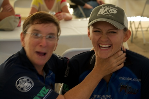 Kay Miculek and her daughter Lena. Photo courtesy of mygunculture.com