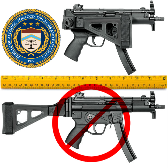 ATF Measuring OAL With Brace Folded?