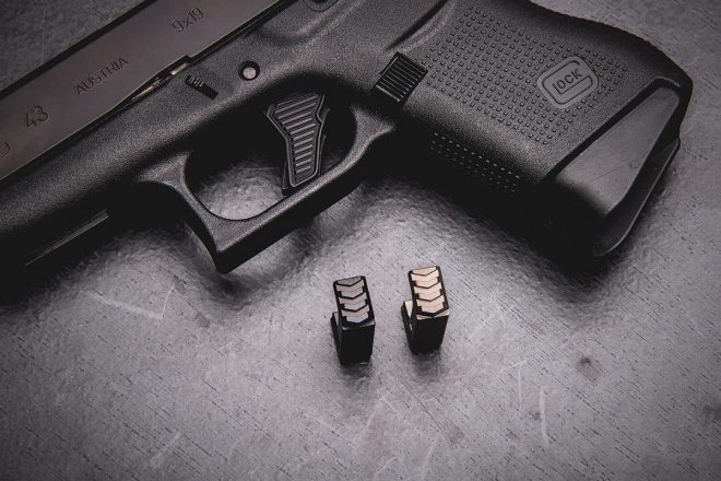 Tyrant Designs CNC Glock 43 Extended Magazine Release -The Firearm Blog