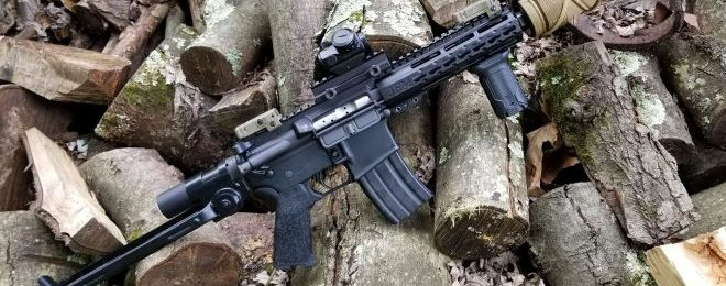AR-15 with an AK-47 Underfolder Stock! Why not (1)