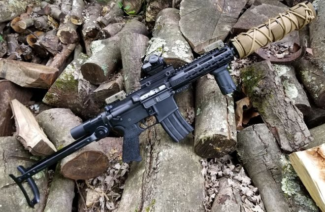 AR-15 with an AK-47 Underfolder Stock!? Why Not? -The