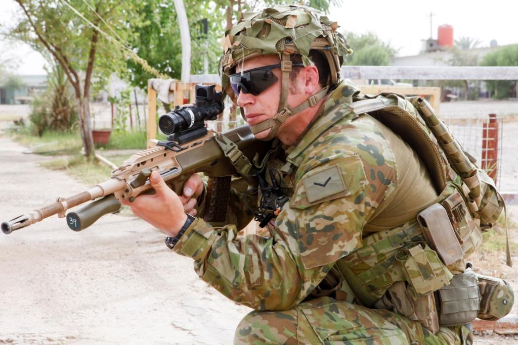 Australian Army Funds Domestic Development of a New Shotgun, Body Armor and Sights (1)
