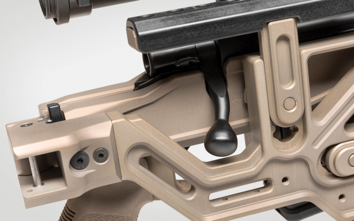 Bolt-Action Rifle Chassis by Automatic of Ukraine (4)