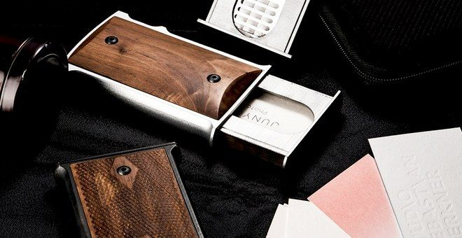 Card Holder Replicating a 1911 Grip and Magazine (M1911-H) (11)
