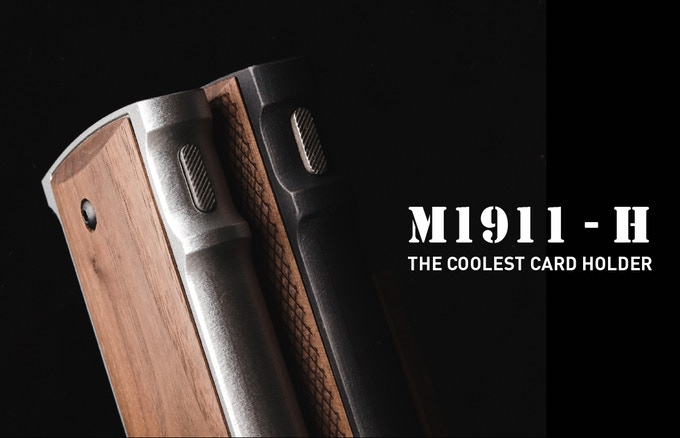 Card Holder Replicating a 1911 Grip and Magazine (M1911-H) (3)