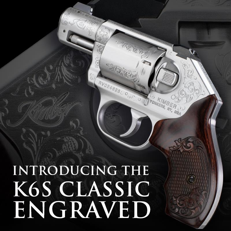 Kimber Special Edition K6s Classic Engraved Revolver (2)