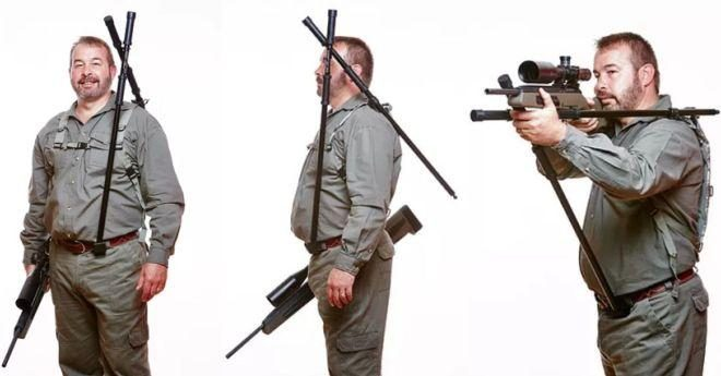 Lazy Aim Body-Mounted Shooting Sticks! (4)