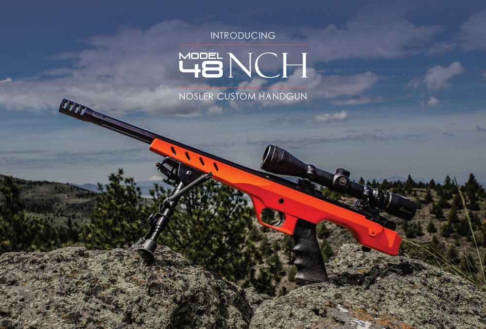 Nosler Introduces the M48 NCH Bolt-Action Handgun (2)