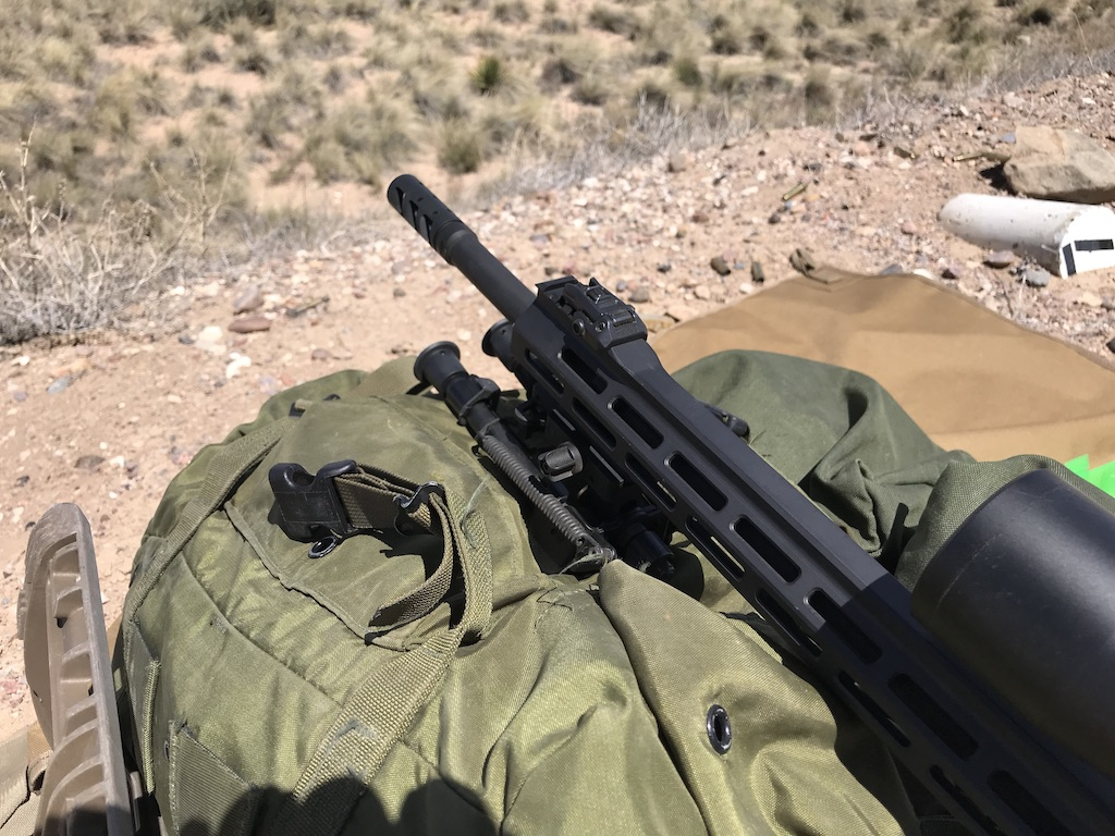 The best of both worlds. A pack and a bipod. I mainly ran the ZRODelta bipod but my ALICE will always be a part of precision shooting...