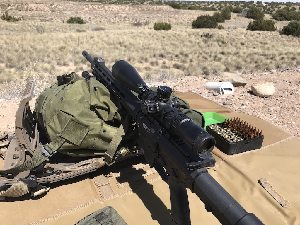 My favorite AR-10 patterned rifle, my RISE Armament 1121XR.