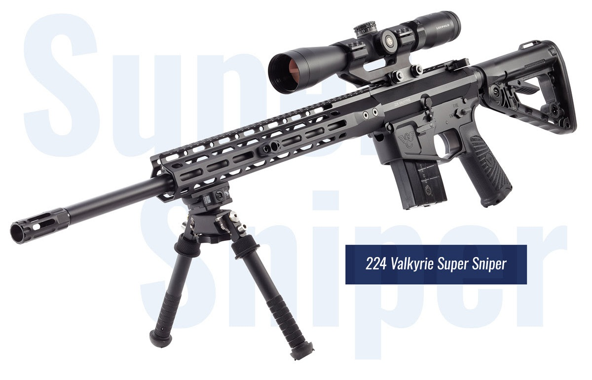 Wilson Combat Recon Tactical and Super Sniper Rifles Chambered in .224 Valkyrie (4) 1