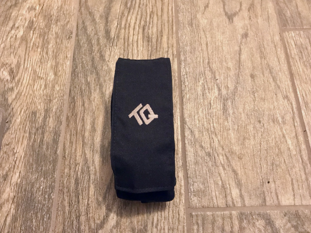 TourniQuick in compact pouch.