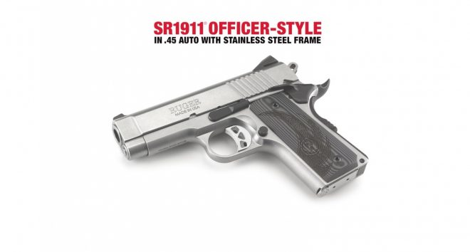 NEW Freedom Piece: Ruger SR1911 Officer-Style .45 AutoThe Firearm Blog