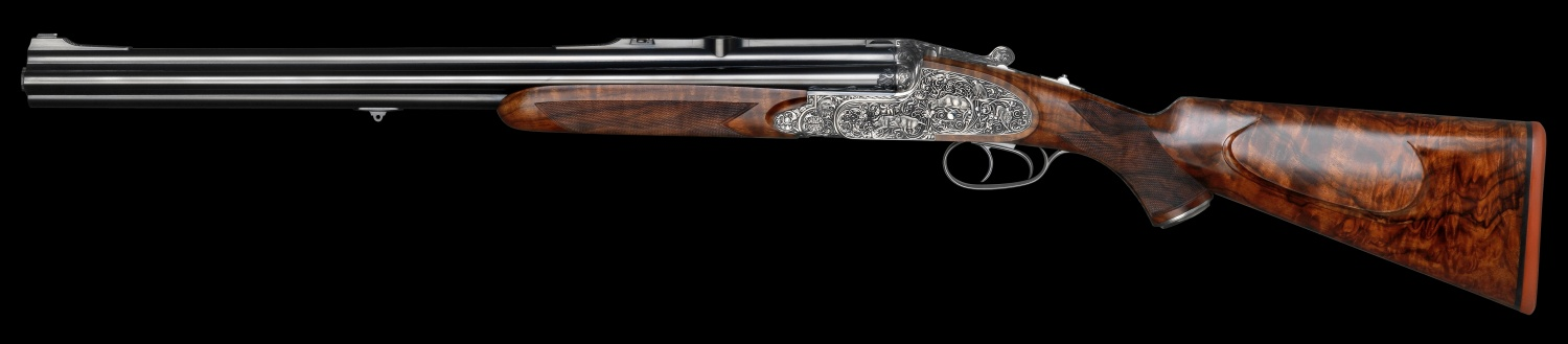 Johann Fanzoj Vierling Four-Barrelled Rifle-Shotgun (1)