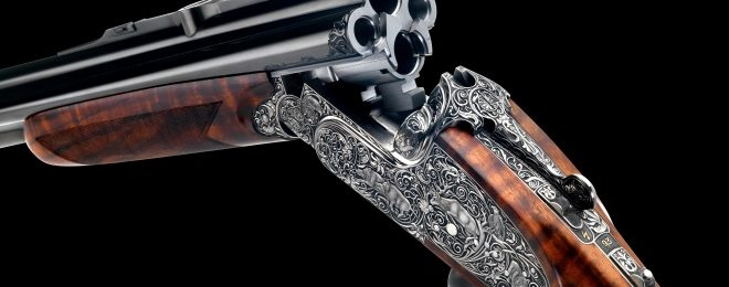 Johann Fanzoj Vierling Four-Barrelled Rifle-Shotgun (2)