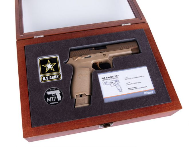 SIG Sauer Announce Limited Edition Commemorative M17 -The