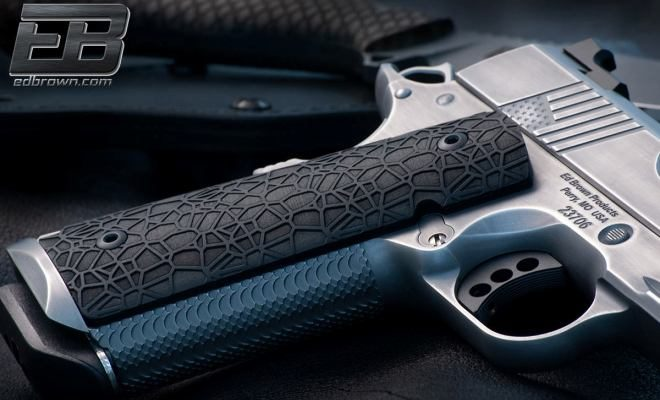 New Ed Brown LABYRINTH 1911 Grips (1)