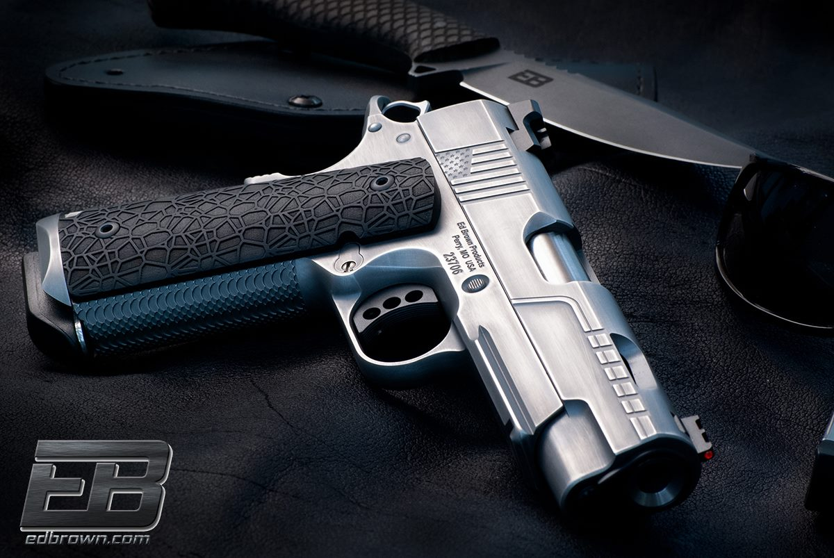 New Ed Brown LABYRINTH 1911 Grips -The Firearm Blog