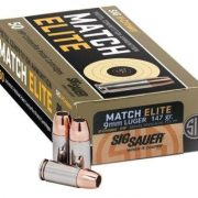 New SIG Sauer Match Elite 9mm Pistol Ammunition