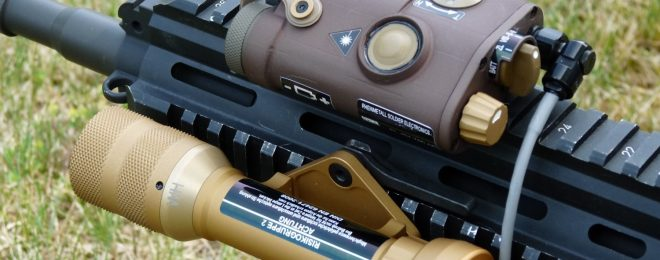 Rheinmetall's Variable Tactical Aiming Laser