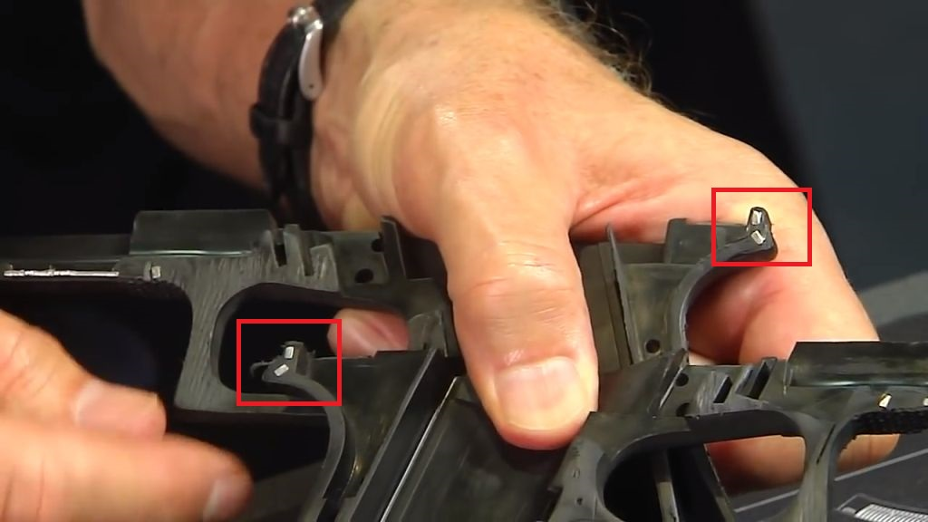 Are LeftRight Glock Rails Connected Inside the Frame Lenny Magill Knows the Answer! (3)