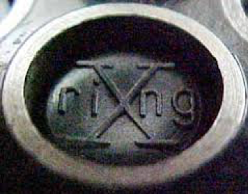 I speculate that this 'riXng' mark was Colt's attempt at branding their revolvers as accurate, playing off of a target's inner 10 ring (also known as the X-ring).