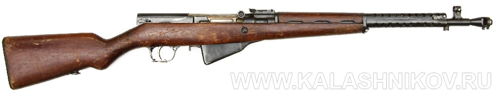 SKS-31 The 7.62x54mmR Predecessor of the 7.62x39mm SKS -- SKS-30