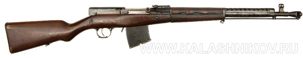 SKS-31 The 7.62x54mmR Predecessor of the 7.62x39mm SKS -- SVS-53