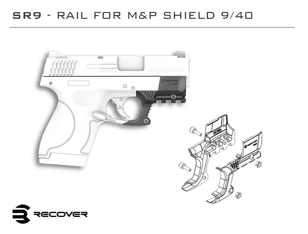 Six NEW Recover Tactical Pistol Rails Now Available for Preorder (2)