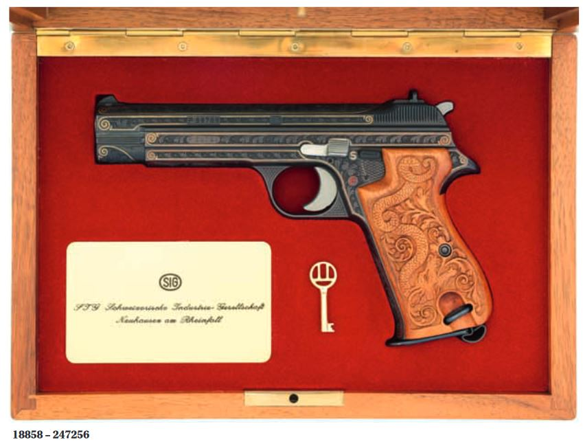 Swiss Auction with a Heavy Machine Gun and other goodies