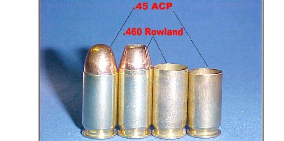 460 Rowland Conversion for H&K USP Tactical Pistols (1111)