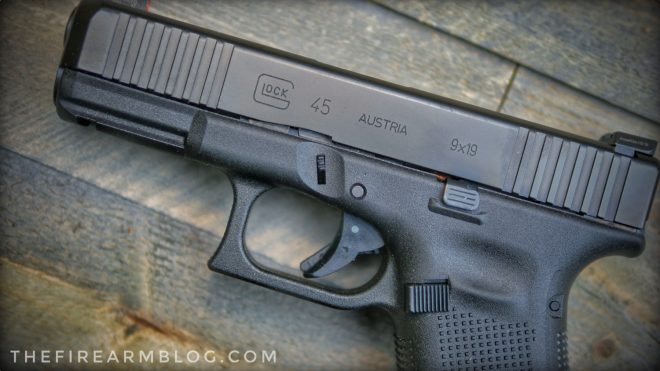 new glock g45 first shots the ultimate service pistol the