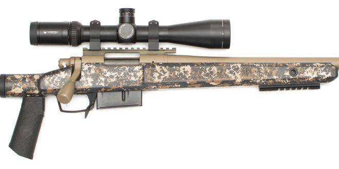 McMillan SENTRY Modular Bolt-Action Rifle Stock (1)