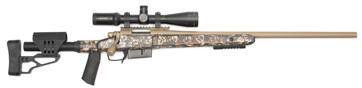 McMillan SENTRY Modular Bolt-Action Rifle Stock (2)