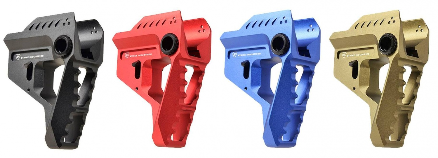 Strike Industries Pit Viper Stock (colors)