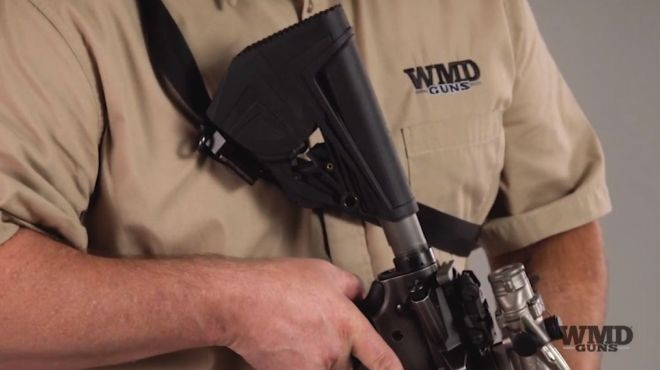 Wmd Guns Slingstock Ar 15 Stock With A Built In