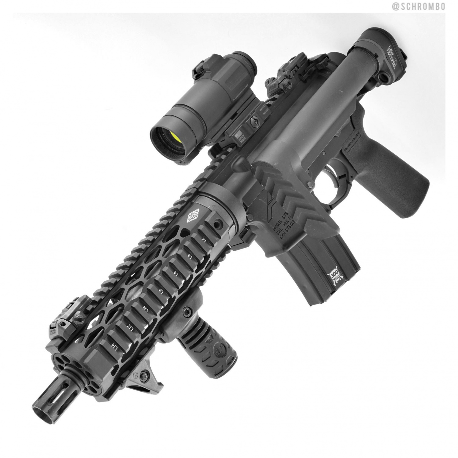 300 Blackout with LAW Tactical and Dolos Take-Down