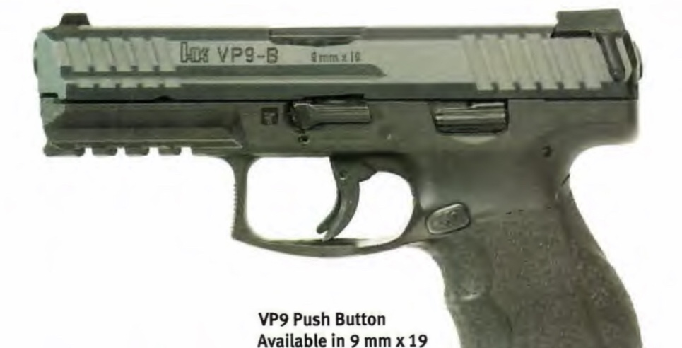 LEAKED: H&K VP9-B With Push Button Magazine Release