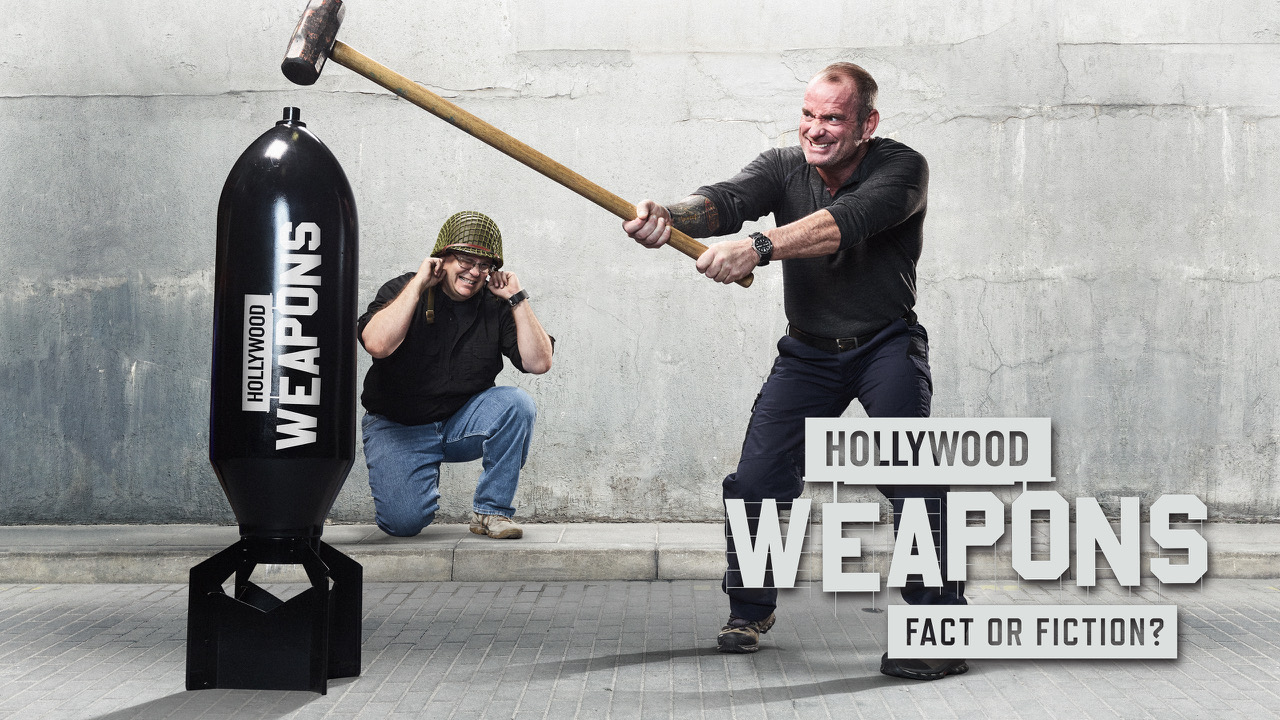 This sums up the show... Image courtesy of Hollywood Weapons.