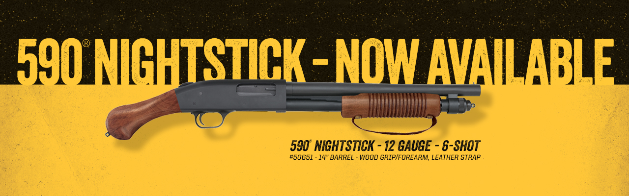 Mossberg 590 NIGHTSTICK Firearm Now Shipping -The Firearm Blog