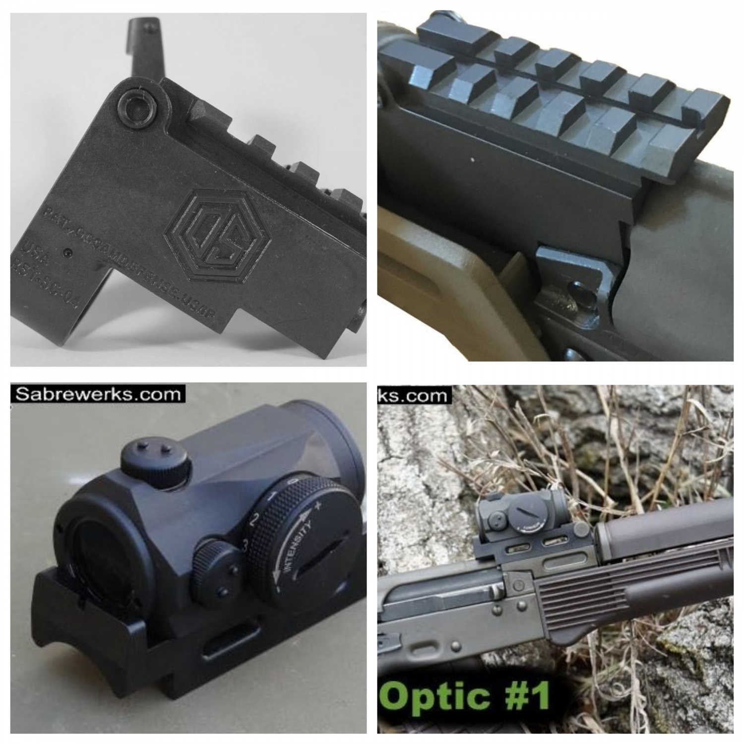 Both mounts are not a bad option, if you have a quality and reliable red dot.