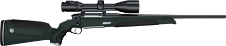NEW Steyr MONOBLOC Rifle with One-Piece Barrel and Receiver (1)