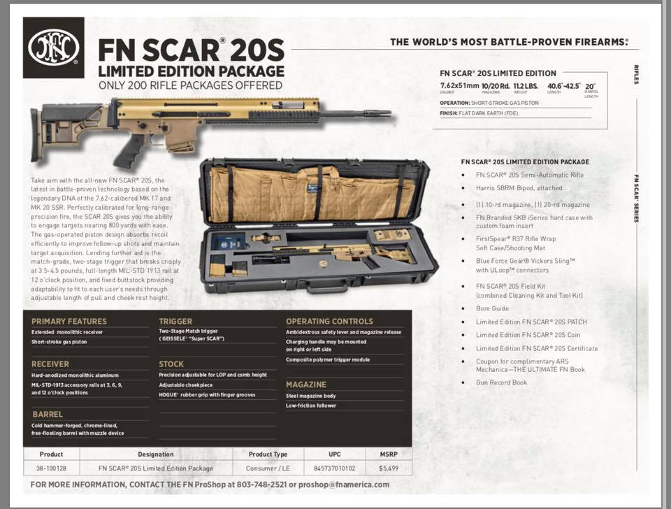 The SCAR 20S is Finally Here! -The Firearm Blog
