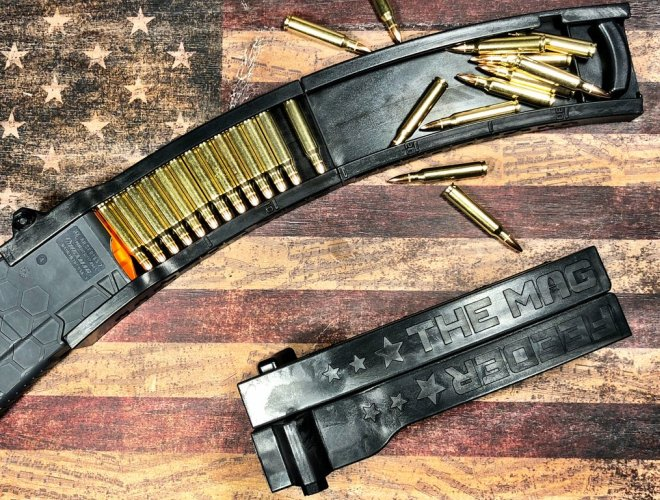 The Mag Feeder - Compact and Folding AR15 Magazine Loader (1)
