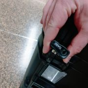 This isn't one of my high security locks! We see a TSA002 marking.